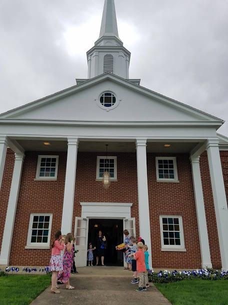 Emmanuel Baptist Church Front Entrance image